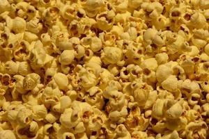 pop majs på nära håll foto