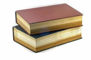 gamla textböcker eller bibel foto