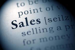 försäljning foto