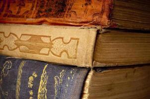 antika böcker foto