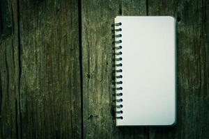 anteckningsboks papper foto