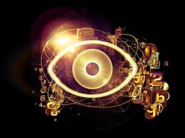 digitalt öga foto