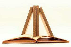 böcker i jämvikt foto