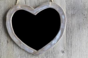 hjärtat svarta tavlan foto