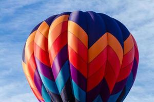 sommaren varmluftsballongfestival foto
