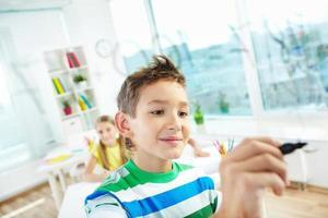 smart skolpojke foto