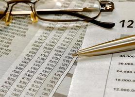 studera aktiemarknaden foto