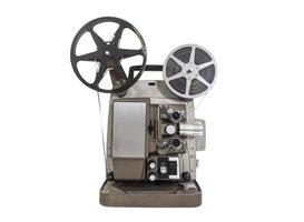 gammal filmprojektor foto