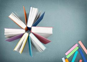 böcker foto