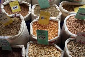 Legumbres. grano semilla alimentacion saludable