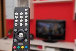 fjärrkontroll av tv foto