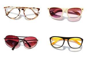 glasögon isolera foto