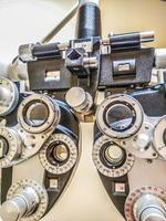 phoropter-diopter - testapparat för ögonsidan foto