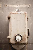 det gamla maskinerinstrumentet foto