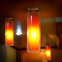 modern elektrisk lampa foto