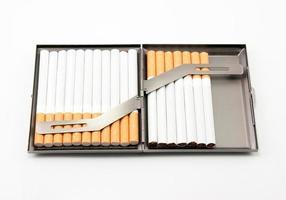 cigaretthållare. foto
