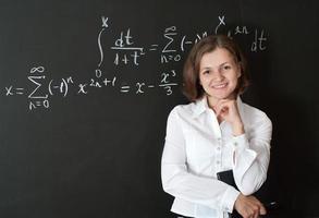 ung lärare foto