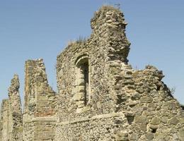 ruiner av en medeltida priory foto