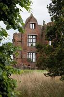moreton corbett castle, shropshire, england foto