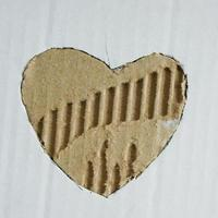 hjärtformad foto