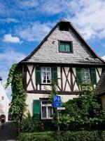 traditionella tyska huset foto