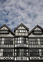 gammal engelsk arkitektur foto