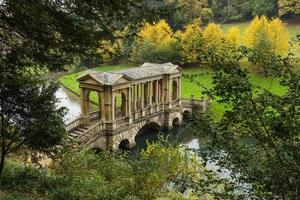 palladian bridge, bad, Storbritannien foto