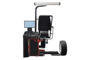 bilden av däckmonteringsmaskinen