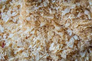 sågspån eller trädamm, abstrakt bakgrund foto