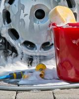 rengöring av bilar foto