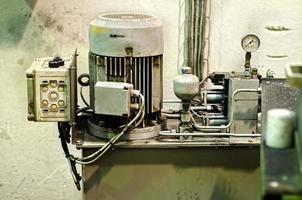trefas industriell, elektrisk motor foto