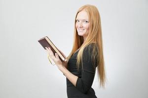 porträtt av affärskvinna foto