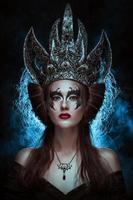 mörk drottning foto