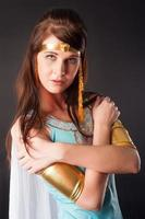 forntida egyptisk kvinna - cleopatra foto