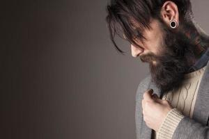 man med skägg