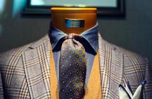 elegant manlig kostym foto