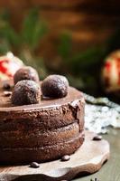 choklad julkaka foto