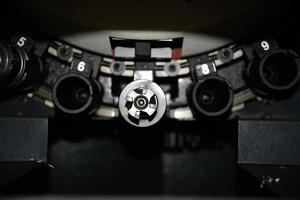 cnc-metall skärning foto