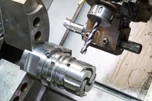 delar för maskinbearbetning av gjutmaskiner foto
