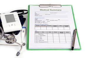 medicinskt instrument. foto