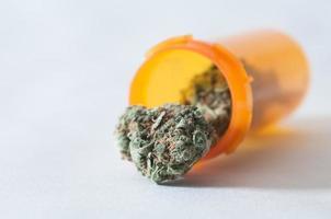medicinsk marijuana foto
