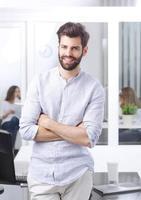ung affärsman porträtt foto