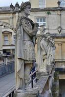 romerska badet, somerset, England foto