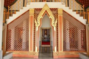 mönster inomhus tempel foto
