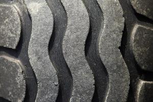 mönster av gamla däck foto