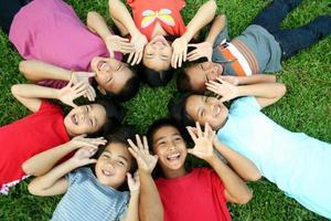 asiatiska barn (serier) foto