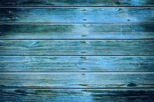 den gamla blå trästrukturen med naturliga mönster foto