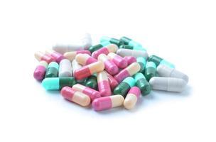 medicinska kapslar, piller foto