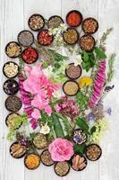 alternativ växtmedicin foto