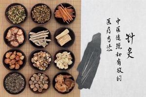 Traditionell kinesisk medicin foto